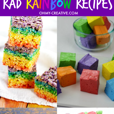 Colorful Rainbow Food Recipes To Make