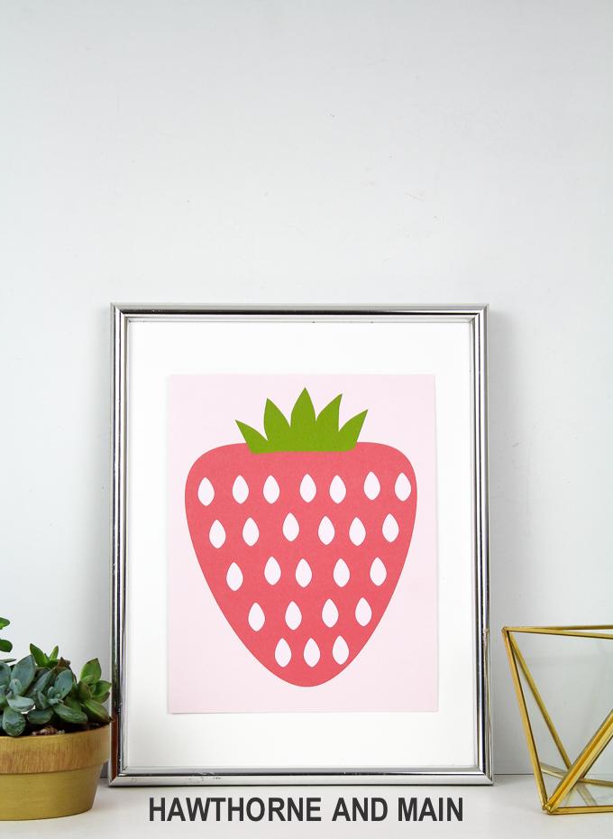 Free Strawberry Printable