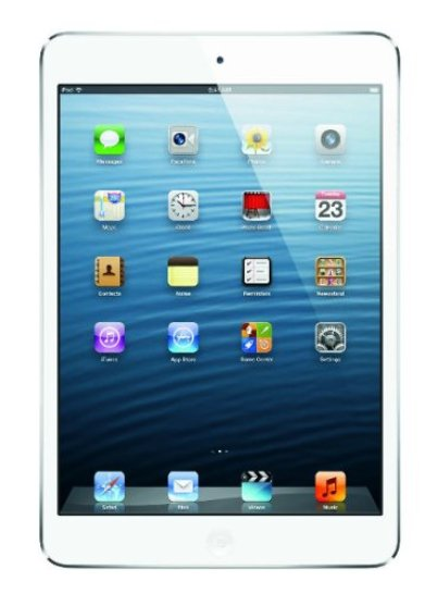 Apple iPad Mini 16GB, Wi-fi Only, White/Silver - Graduation Gifts for Her | OHMY-CREATIVE.COM