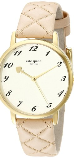 Kate Spade Watch Second Hand Spade Metro - Graduation Gifts for Her | OHMY-CREATIVE.COM