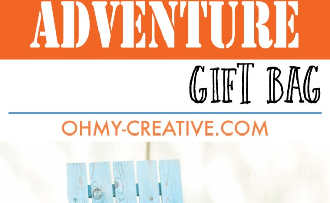 Personalized Gifts For Dad Adventure Gift Bag Oh My