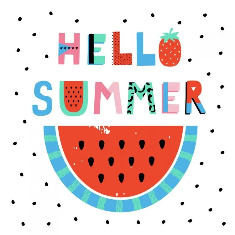 How to throw a fantastic summer party with these fun party tips, free printables and summer party invitations for you to get your summer party off to a roaring start. Cute watermelon summer party ideas | OHMY-CREATIVE.COM