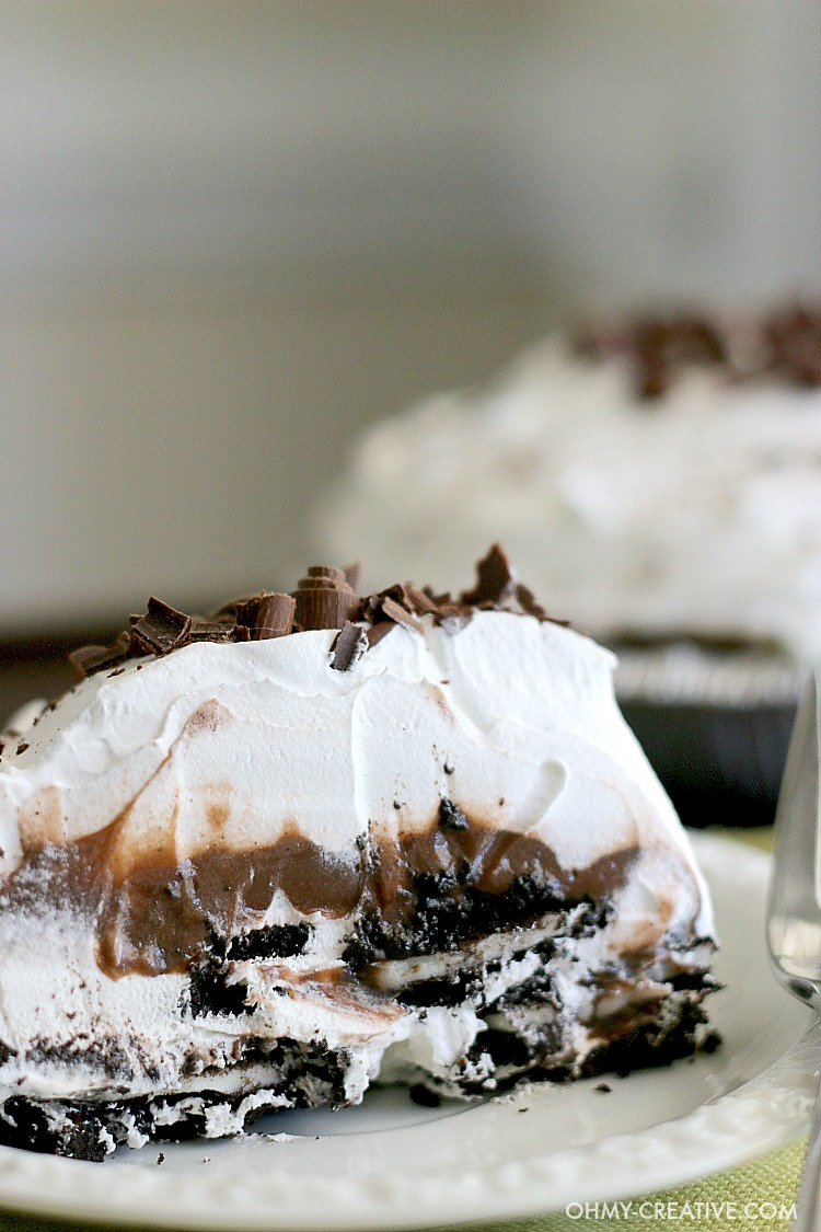 Oreo Icebox Pie