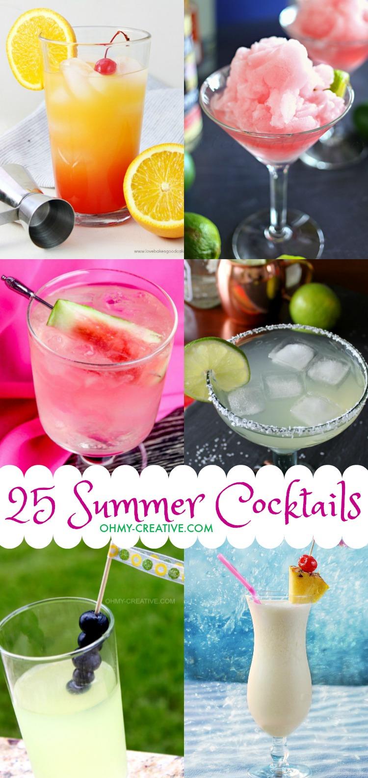 25 Fun Summer Cocktails