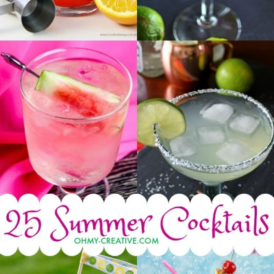 25 Fun Summer Cocktails