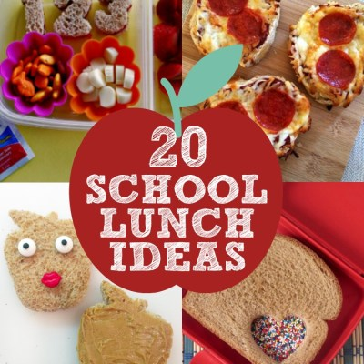 20 Creative School Lunch Ideas for Kids