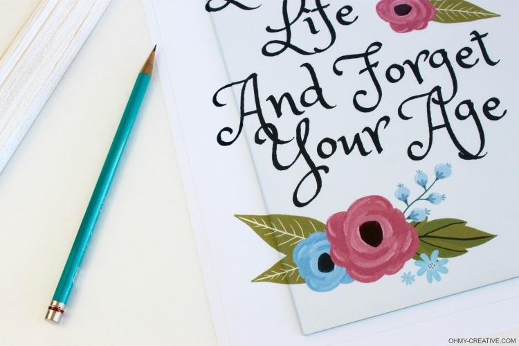picture about Printable Quotes About Life referred to as Lifetime Inspirational Estimates Absolutely free Printable - Oh My Innovative