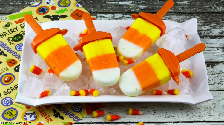 Coloring Pages For Yogurt : Yogurt candy corn popsicle recipe oh my creative