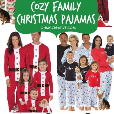 11 COZY FAMILY CHRISTMAS PAJAMAS FOR 2019!