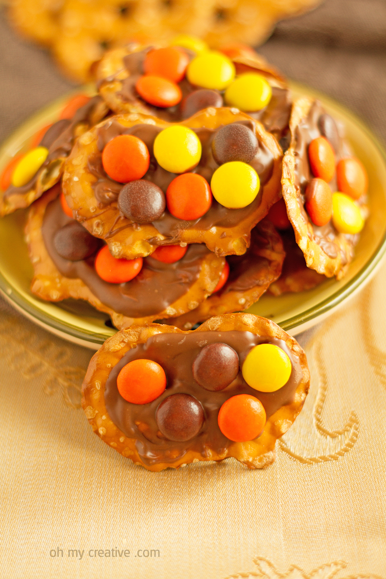 leftover halloween candy recipe - oh my creative