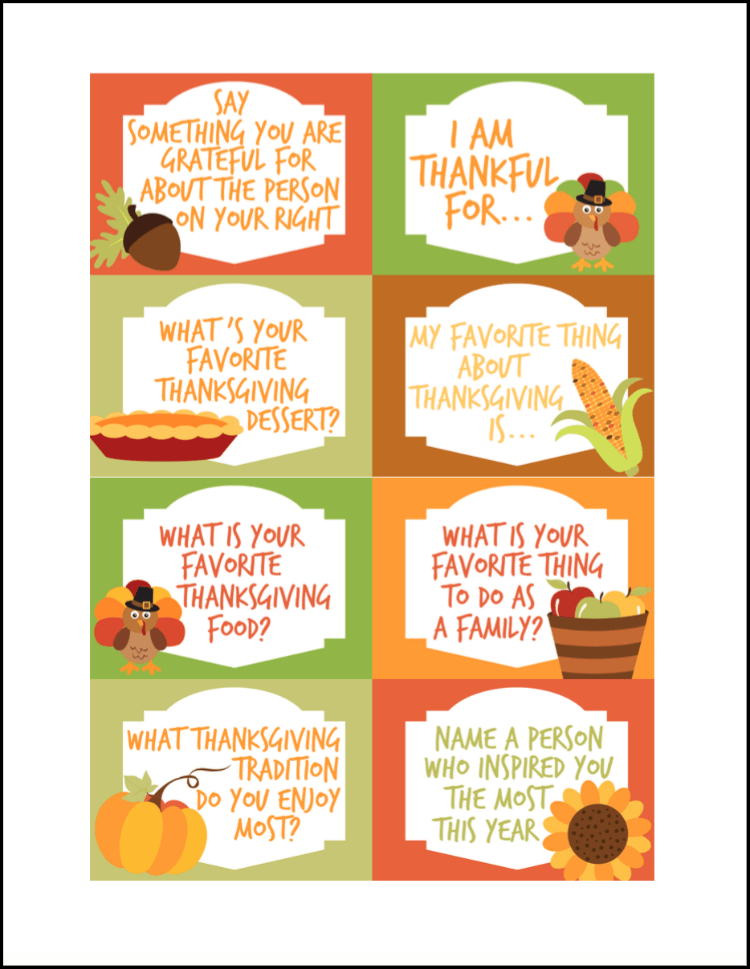 picture relating to Thanksgiving Closed Sign Printable named Thanksgiving Communication Starters Free of charge Printables - Oh My