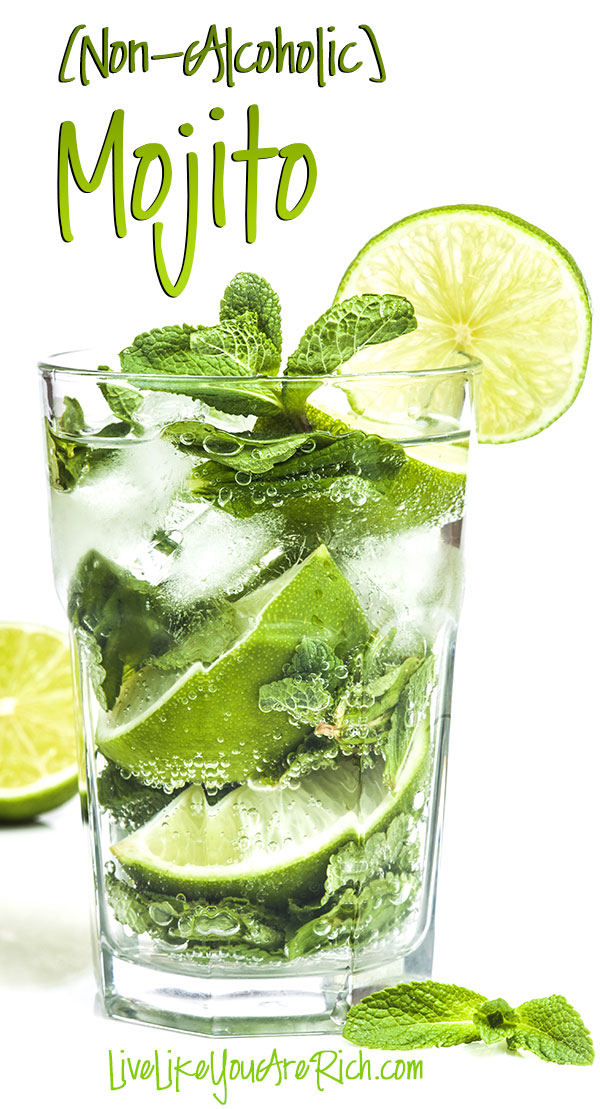 Non-Alcoholic Mojito | 30 Graduation Party Food Ideas | OHMY-CREATIVE.COM