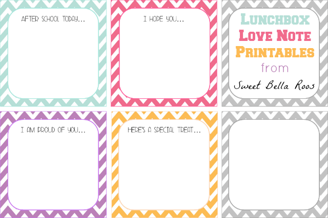 graphic about Printable Lunchbox Notes identify 10 Absolutely free Printable Lunchbox Notes - Oh My Innovative