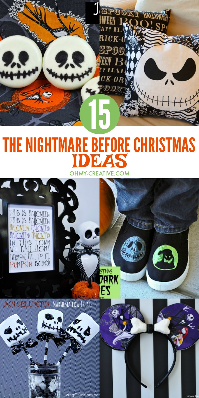 15 Fun The Nightmare Before Christmas Ideas - Oh My Creative