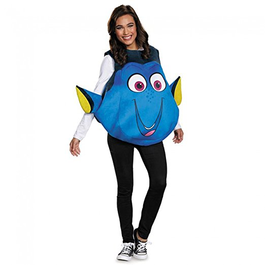 25 Disney Costume Ideas | OHMY-CREATIVE.COM | DIY Costumes | DIY Halloween | DIY Halloween Costumes | Amazon Costumes | Best DIY Halloween Costumes | Dory Costume |