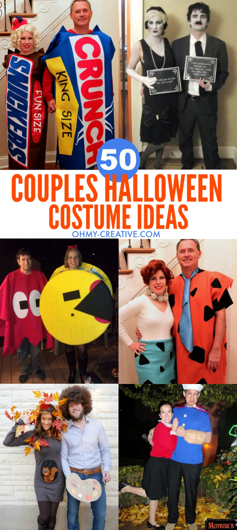 50 Couples Halloween Costume Ideas | OHMY-CREATIVE.COM | Halloween Costumes for Couples  sc 1 st  Oh My Creative & 50 Couples Halloween Costume Ideas - Oh My Creative