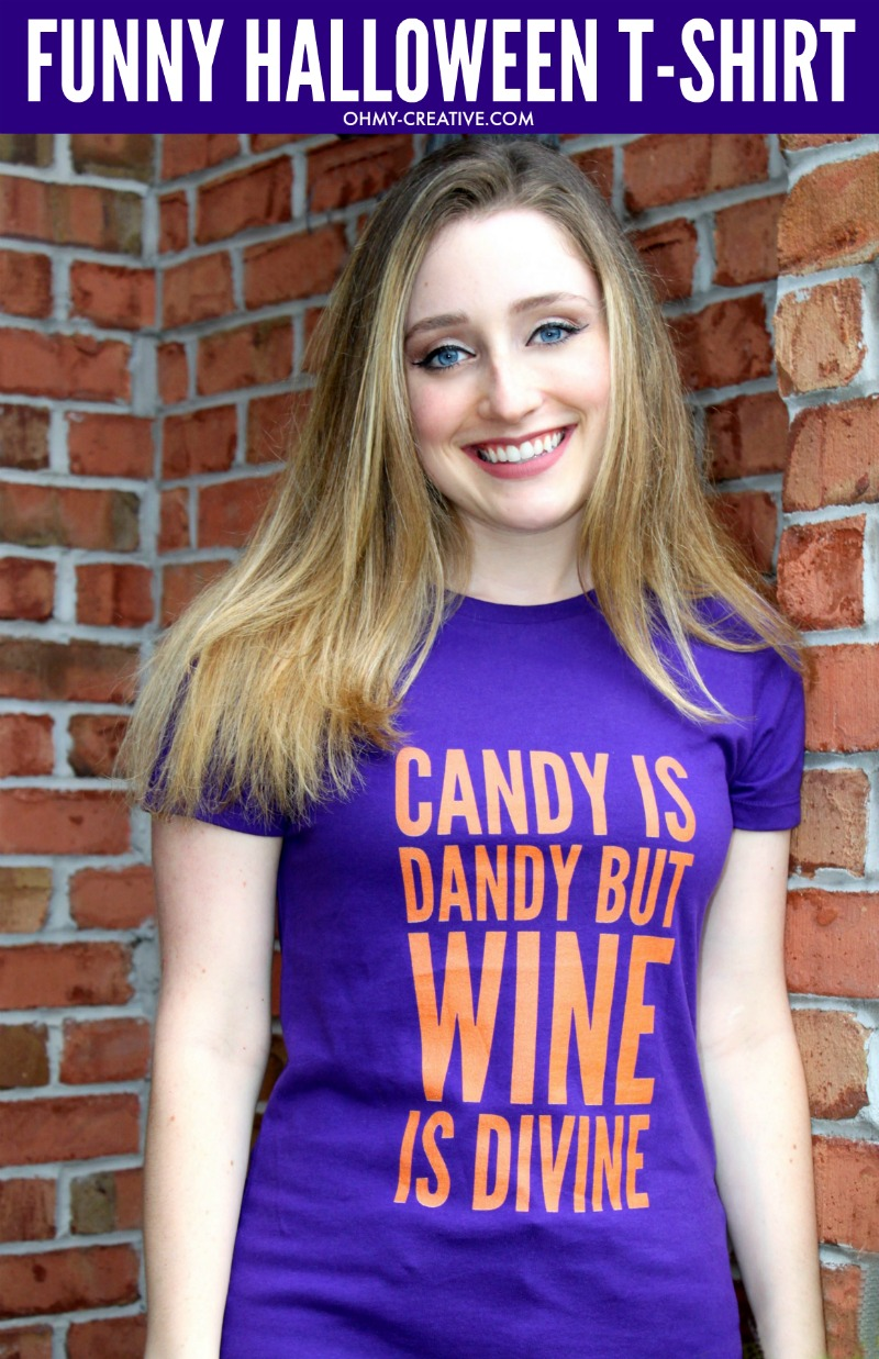 Funny Halloween T-shirts For Women OHMY-CREATIVE.COM | Halloween sayings | Funny Halloween sayings | Halloween Phrases | Wine t-shirt | funny Halloween Quotes t-shirt | Halloween Tee | Halloween Tshirt