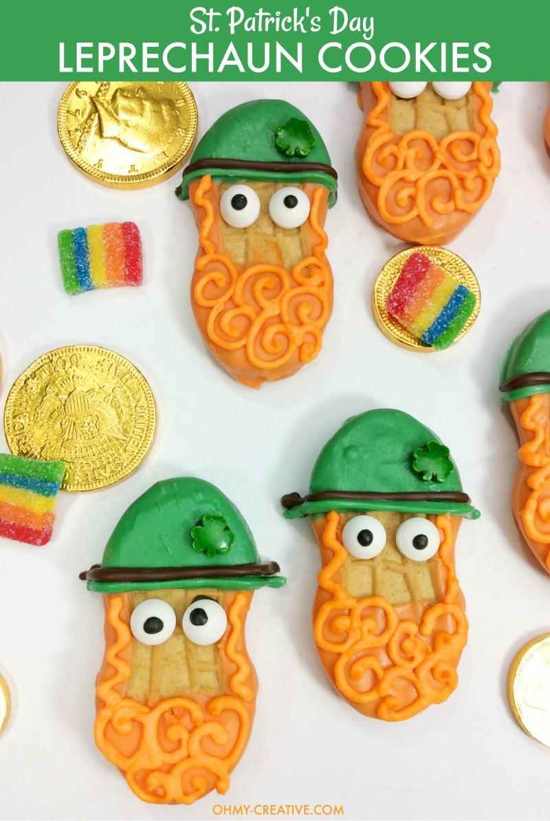 Leprechaun Treats  |  St. Patrick's Day Cookies