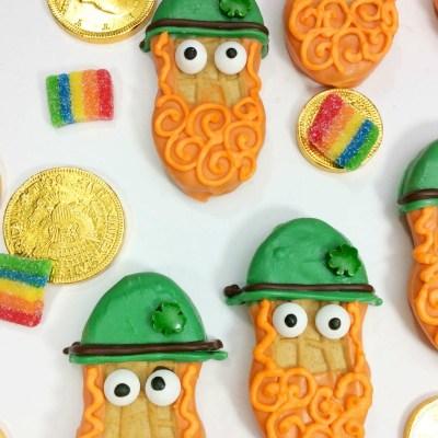 Leprechaun Treats   OHMY-CREATIVE.COM   Leprechaun Cookies   St. Patrick's Day Cookies   St. Patrick's Day Treats   Leprechaun Ideas   Leprechaun For Kids