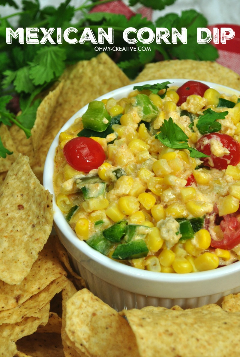 Hot Mexican Corn Dip Recipe