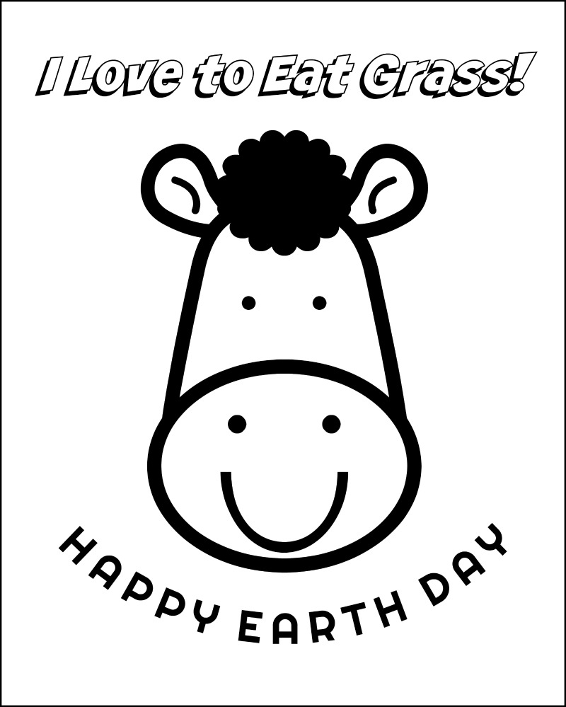 Earth Day Coloring Pages Oh My Creative