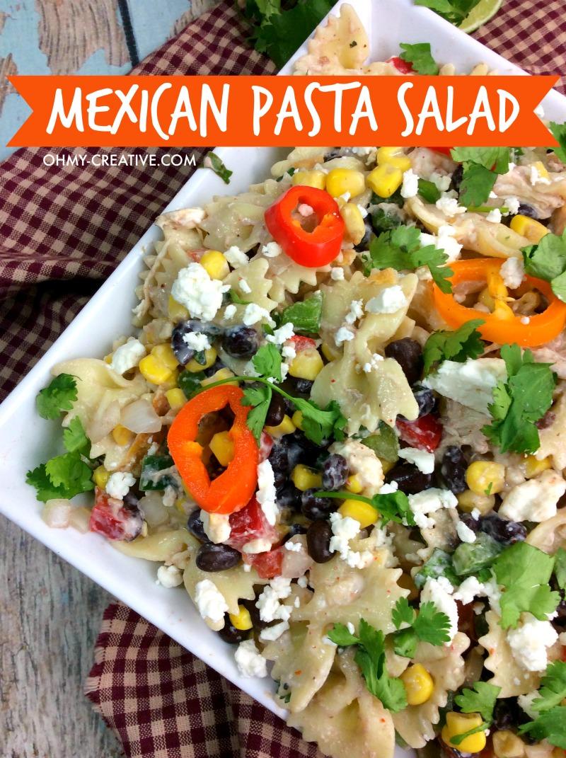 Mexican Pasta Salad Recipe