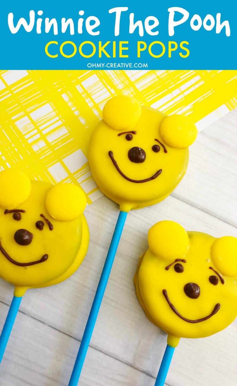 Winnie The Pooh Cookies Pops