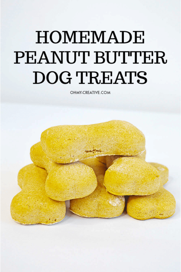 Peanut Butter Dog Treats Recipe