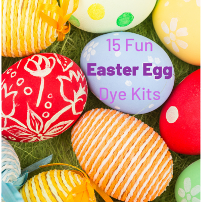15 Fun Easter Egg Dye Kits Kids Will Love
