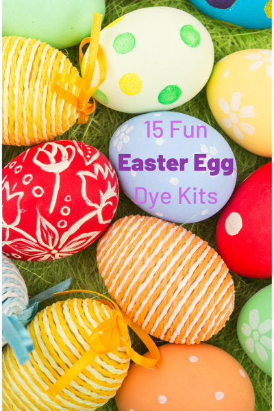 15 Fun Easter Egg Dye Kits Kids Will Love. These Easter Egg decorating ideas will let the kids be very creative. From marker kits to crazy colorful Easter dyes, there are so many ways to make creative Easter eggs! OHMY-CREATIVE.COM #easter #eastereggideas #easterdyekits #eastereggdecoratingideas