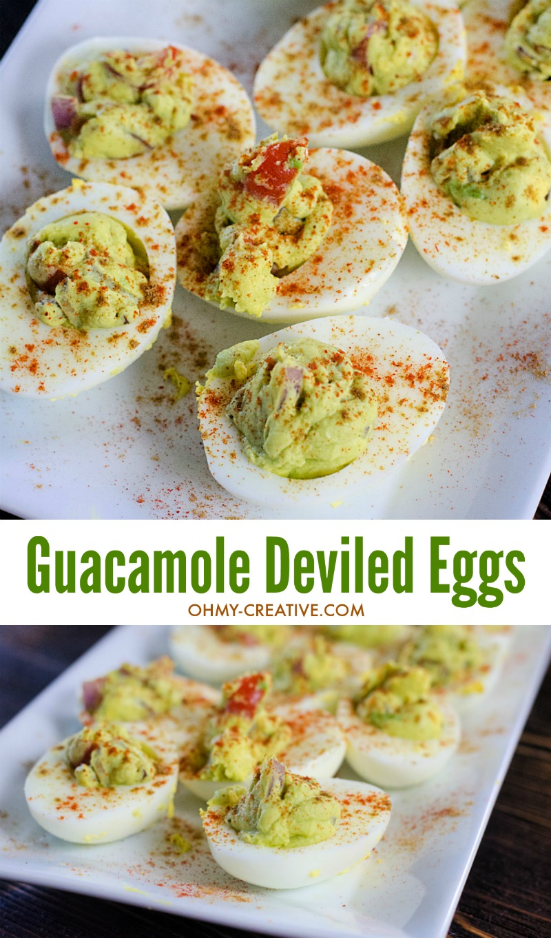 Guacamole deviled egg recipe