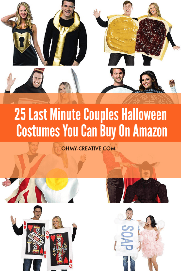 Funny couples Halloween costumes you can buy on Amazon