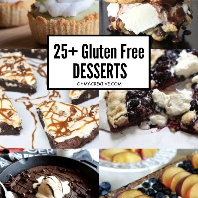 25+ Easy Gluten-Free Desserts For All Occasions