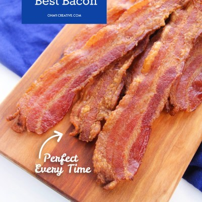 How To Bake Bacon In The Oven: Easy Perfect Bacon