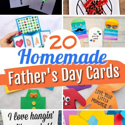 20 Homemade Father's Day Card Ideas