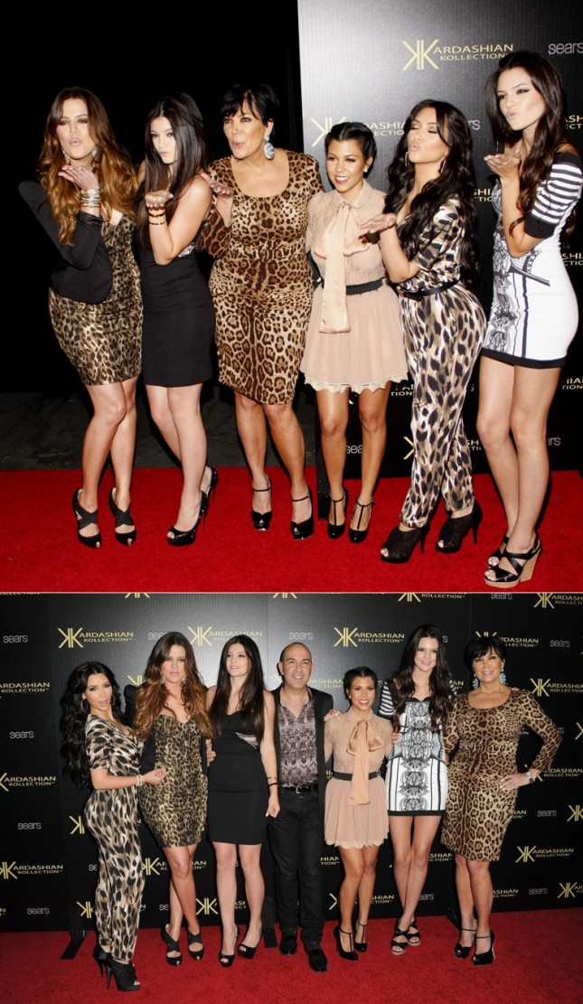 Coleção Kardashian Para a Sears Kollection Looks