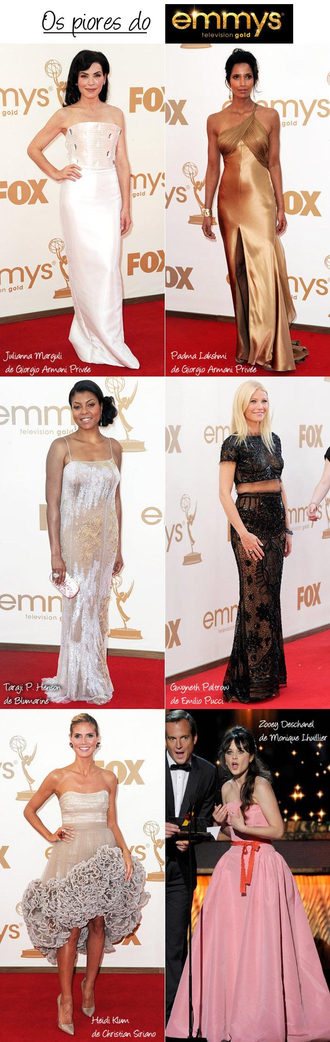 Os Vestidos Mais Feios do Emmy