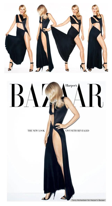 Gwyneth Paltrow na Nova Harper's Bazaar