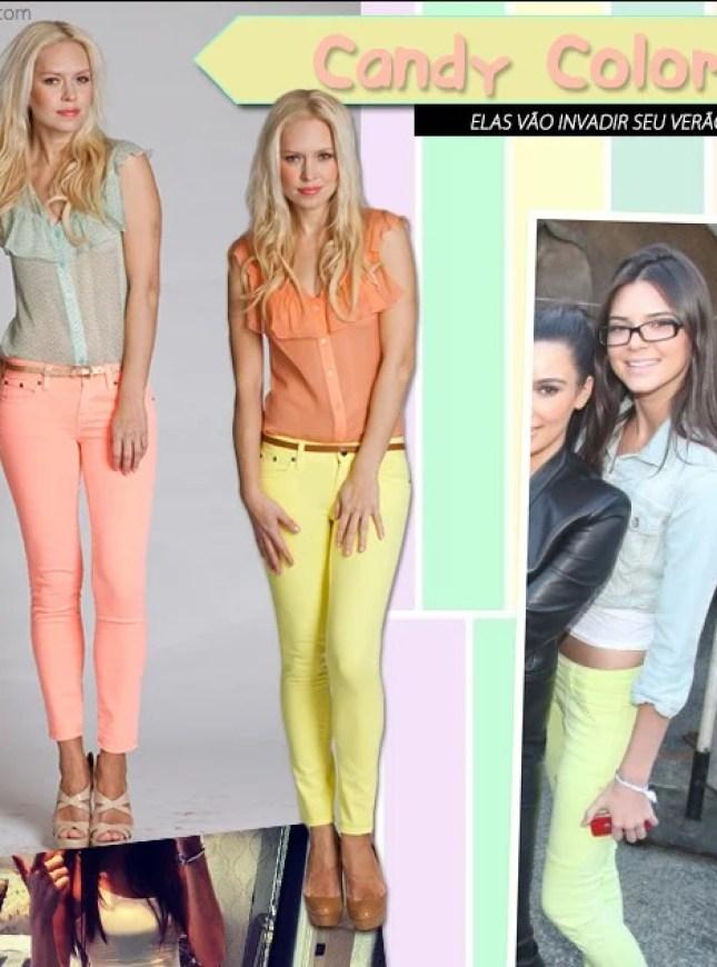 Candy Colors Tons Pastel Kendall Jenner Kim Kardashian