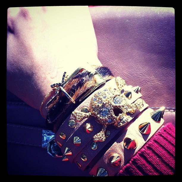pulseiras kafe acessorios arm party arm candy swag blog de moda