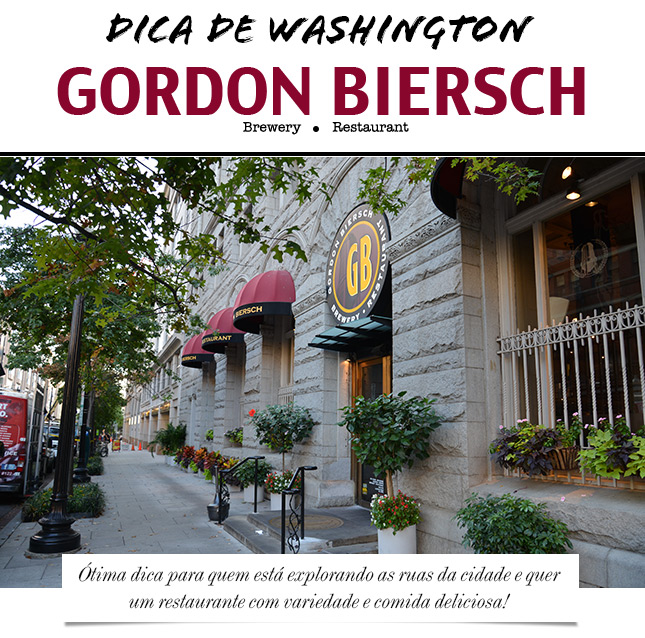 dica de viagem washington dc blog de moda oh my closet dica restaurante usa eua moda onde comer washington gordon biersch restaurante brewery