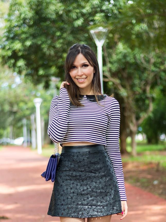 Blogueira Mônica Araújo usa Únicas para Zaus Boutique.