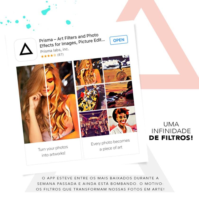 A dica de app do dia é o Prisma, o app que está bobando na App Store! Veja no Oh My Closet!