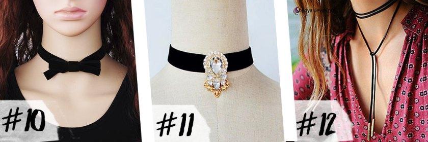 O Oh My Closet fez uma seleção com 21 Choker do Ali express. Vem ver o que a blogueira Mônica Araújo escolheu!