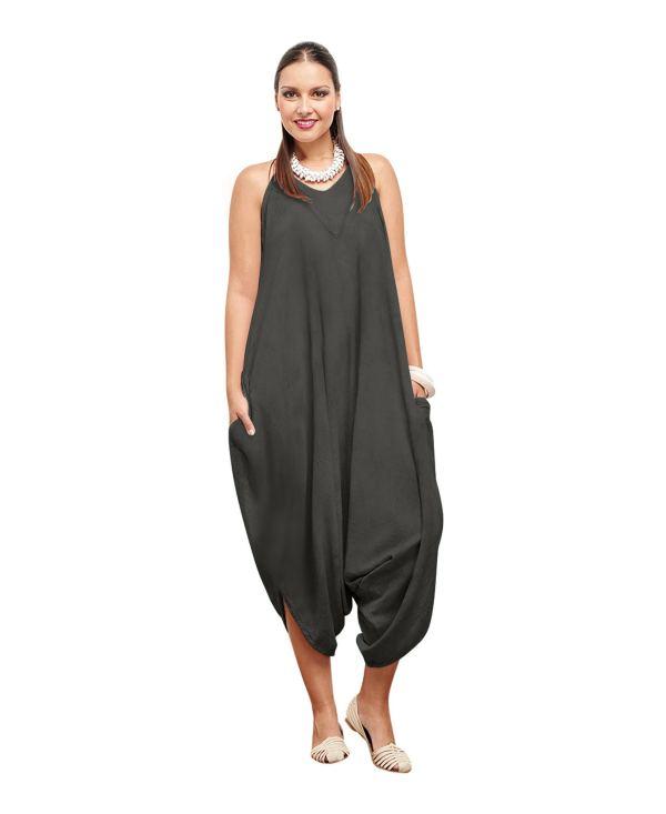 Gauze Jeane Dress Lagenlook Casual 100 Cotton