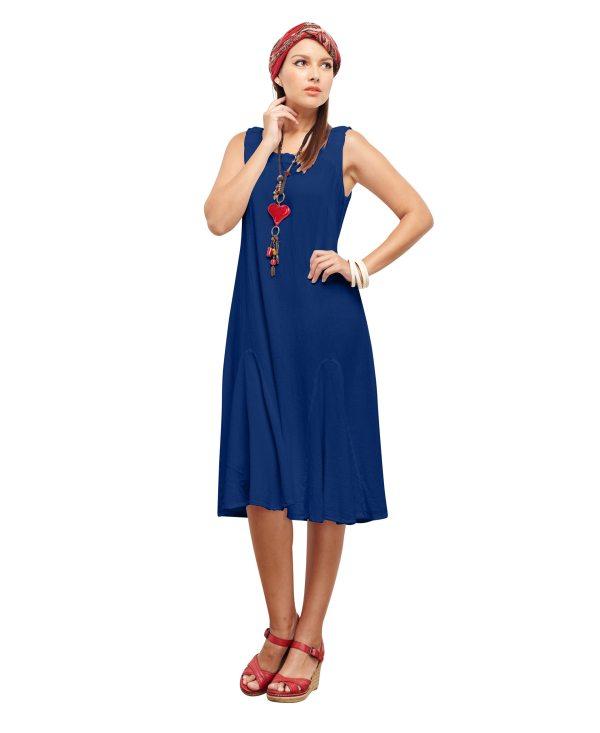 Gauze Lucy Dress Lagenlook Casual 100 Cotton
