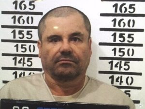 A 2016 mugshot of Joaquin El Chapo Guzmán at the Altiplano maximum security prison in Mexico.
