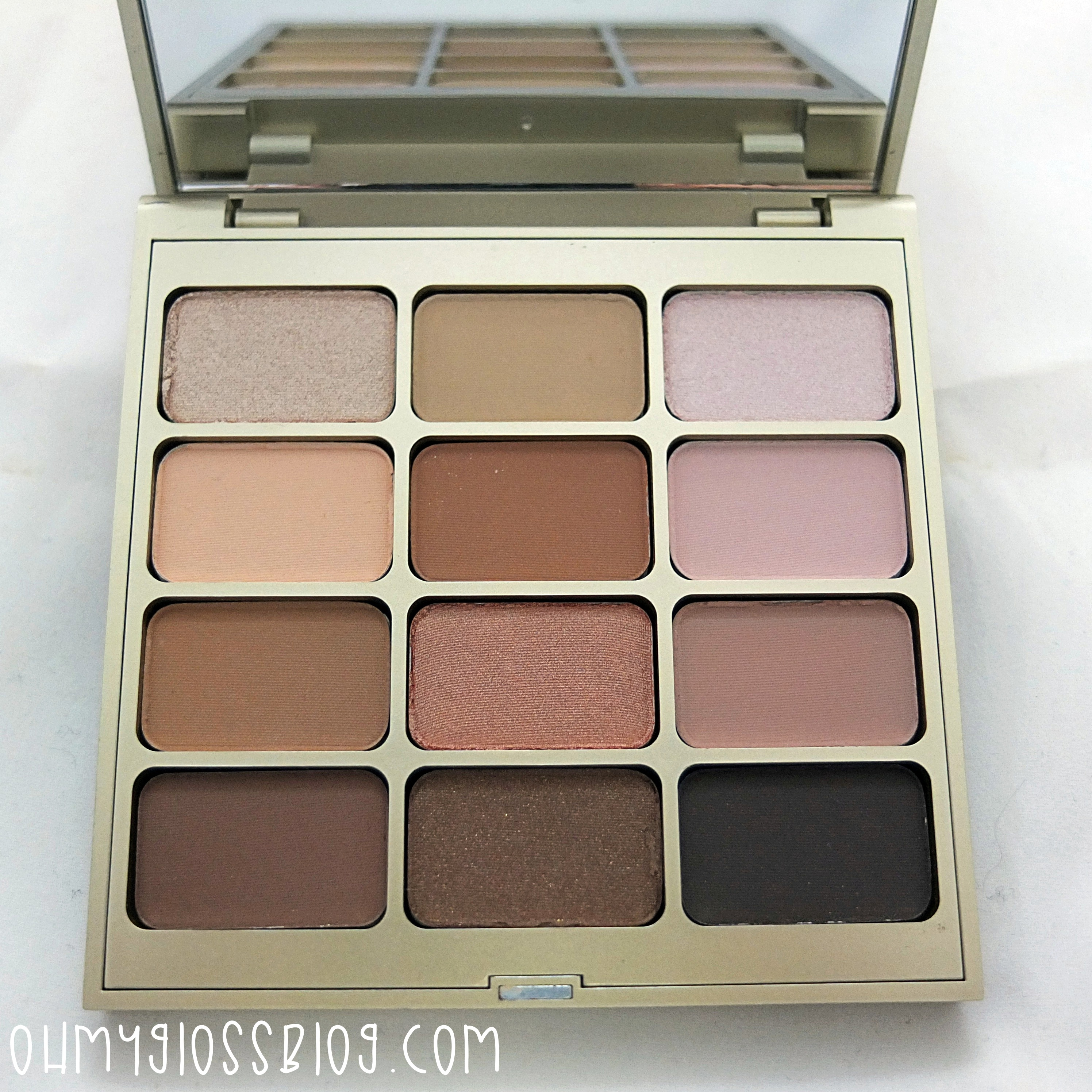 Stila Nouveau Natural Eye Shadow Palette Review Oh My Gloss Blog