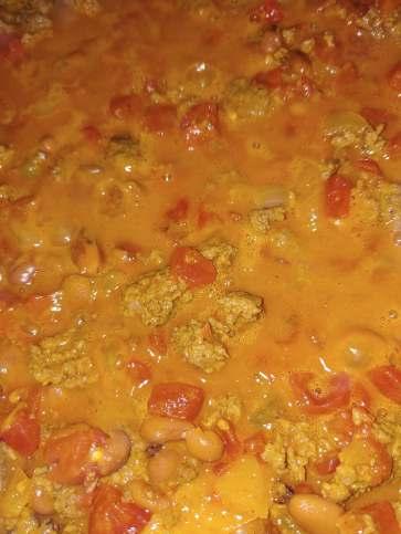 chili simmering