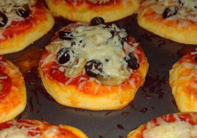 Personal Pan Pizzas